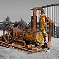 Retired Petroleum Pump by Richard J Cassato