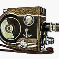 Revere 8 Movie Camera by Jon Woodhams
