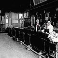 Reverse Angle Interior Cabinet Saloon 68 W. Congress Tucson Arizona 1910 by David Lee Guss