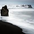 Reynisdrangar Sea Stacks by Jeremy Walker/science Photo Library