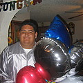 Ricardo Celebrating His High School Graduation Eloy Arizona 2002 by David Lee Guss