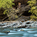 River Flowing Through Rocks, Zion by Panoramic Images