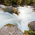 River Rapids Washing Over Rocks With Silky Look by Stephan Pietzko