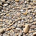 River Rocks Pebbles by Henrik Lehnerer
