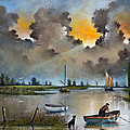 River Yare On The Broads by Ken Wood