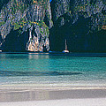 Rock Formations In The Sea, Phi Phi by Panoramic Images