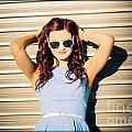 Rockabilly Greaser Pin-up. 50s Drive-in Culture by Jorgo Photography - Wall Art Gallery