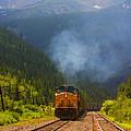 Rocky Mountain Train by Steve Krull