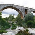 Roman Arch Bridge Pont St. Julien by Christiane Schulze Art And Photography