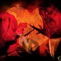 Rose Heart by Ernestine Manowarda