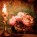 Roses By Candlelight by Theresa Tahara