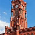 Rotes Rathaus The Town Hall Of Berlin Germany by Michal Bednarek