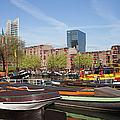 Rotterdam Cityscape In Netherlands by Artur Bogacki