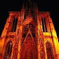 Rouen Church by Tim G Ross