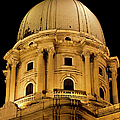 Royal Palace Dome In Budapest by Artur Bogacki