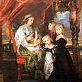 Rubens' Deborah Kip -- Wife Of Sir Balthasar Gerbier -- And Her Children by Cora Wandel