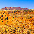 Ruins Of 900 Year Old Hopi Village by Panoramic Images