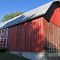 Rustic Red Barn  by Kevin McCarthy