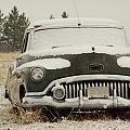 Rusting In The Snow by Jeff Swan
