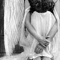 Sad Angel Woman by Jill Battaglia