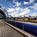 Sage Gateshead And Newcastle Skyline by David Pringle