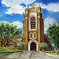 Saint Andrews Episcopal Church Bryan Texas by Hailey E Herrera