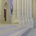 Saint John The Divine Cathedral Columns by Susan Candelario