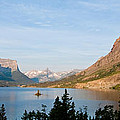 Saint Mary Lake And Wild Goose Island by Jeff Goulden