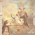 Saints Dominic Benedict And Francis Of Assisi 2 by John Alan  Warford