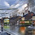 Salop Street Dudley C 1950 by Ken Wood