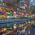 San Antonio Riverwalk by Robert Bellomy
