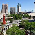 San Antonio Texas Skyline by Bill Cobb