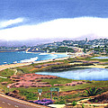 San Elijo And Hwy 101 by Mary Helmreich