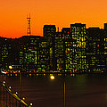 San Franscisco Ca by Panoramic Images