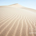 Sand Dunes In The Desert At Sunrise Dunhuang China by Matteo Colombo