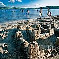 Sandcastle On The Beach by Amy Cicconi