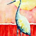 Sandhill Crane II by Sarah Rosedahl