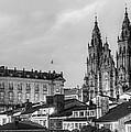 Santiago De Compostela Cathedral Galicia Spain by Pablo Avanzini