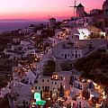Santorini Sunset by Ollie Taylor