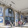 Sao Bento Railway Station Porto Portugal by Jacek Malipan