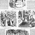 Saratoga Springs, 1859 by Granger