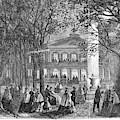 Saratoga Springs, 1865 by Granger