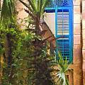 Savannah Window Impasto by Sharon Foster