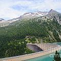 Schlegeis Dam And Reservoir  by Ilan Rosen