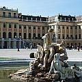 Schoenbrunn Palace In Vienna - Austria by Frank Gaertner