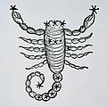 Scorpio by Italian School