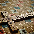 Scrabble Merry Christmas by Bill Owen