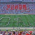 27w115 Script Ohio In Osu Stadium by Ohio Stock Photography