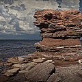 Sea Stack At North Cape On Prince Edward Island by Randall Nyhof