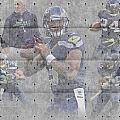 Seattle Seahawks Team by Joe Hamilton